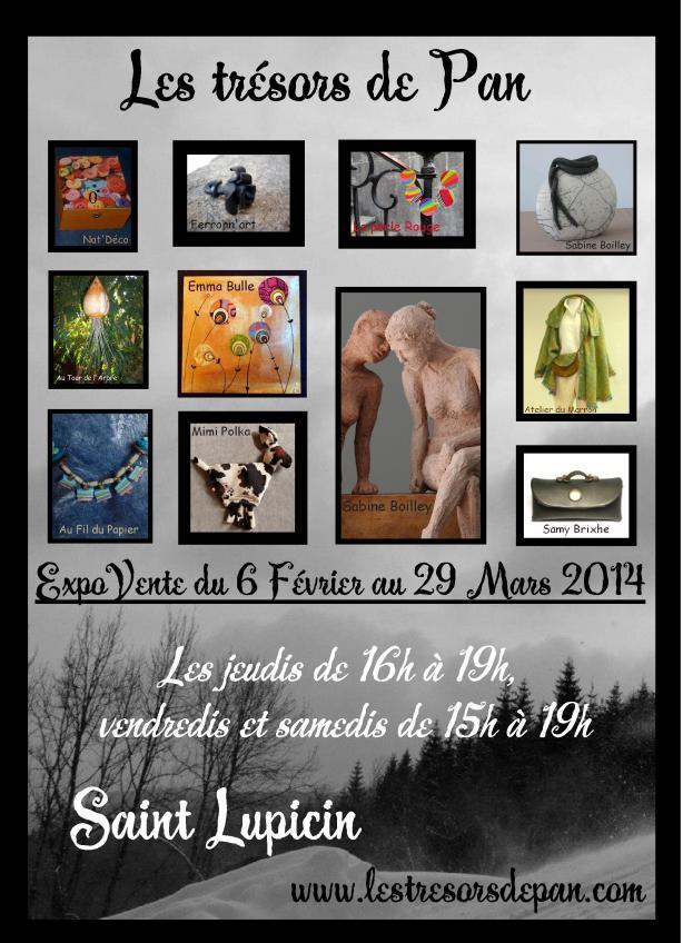 Exposition-vente février et mars !!!