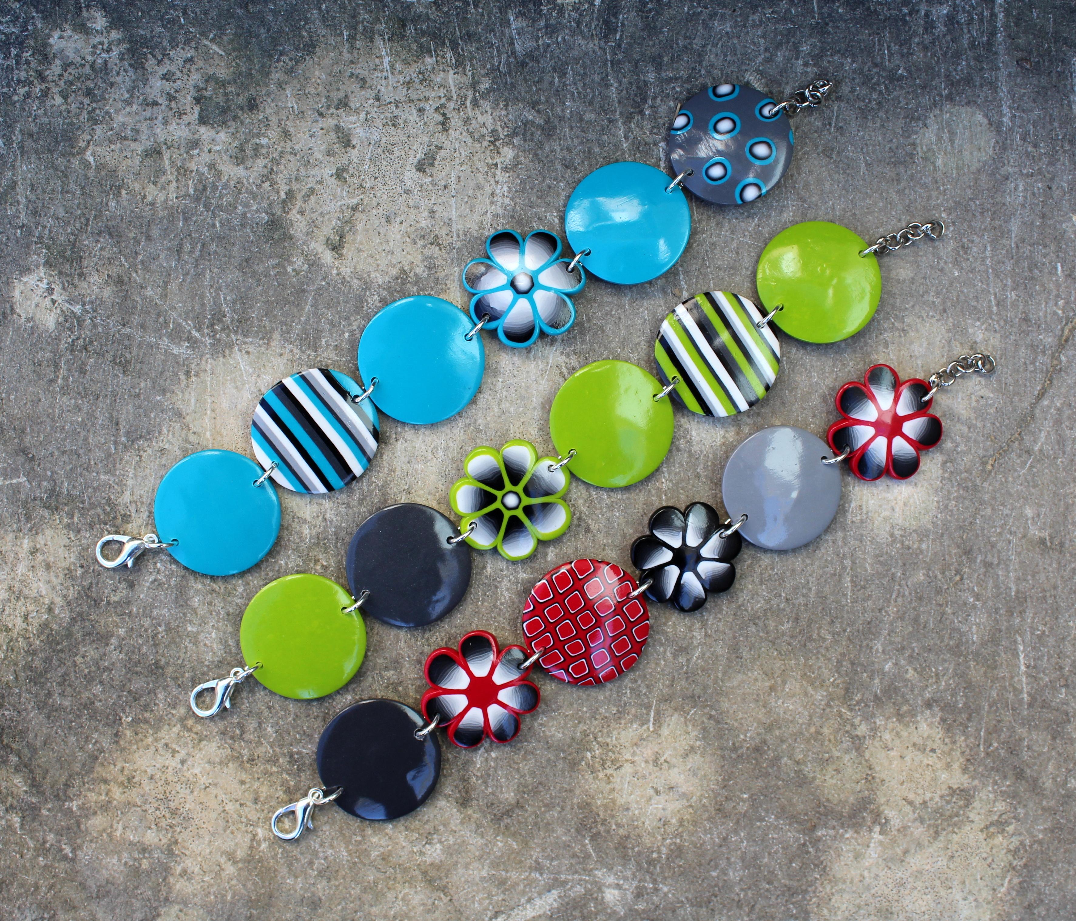 Bracelets de printemps suite...