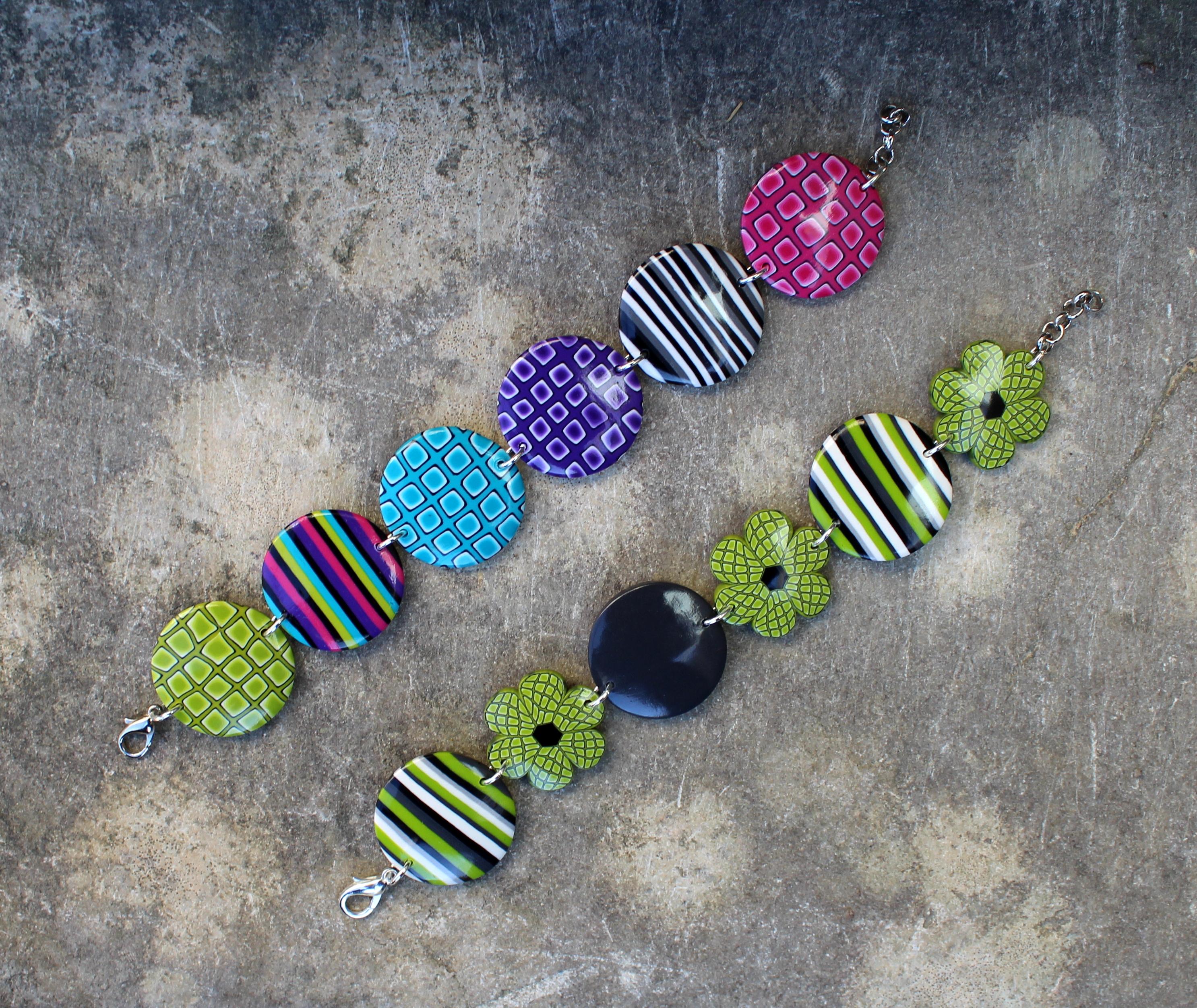 Bracelets de printemps... toujours